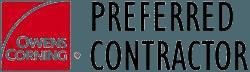 Owens Corning Preferred Contractor - Logo