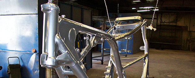 Motorcycle frame