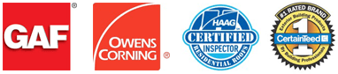 GAF | Owens Corning | HAAG Certified | Exterior Building Professionals