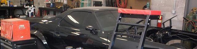 Garage Black Car