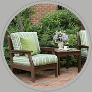 Wood lawn furniture