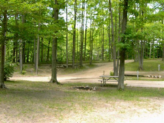 Campsites and Facilities   Tents Cabins   Tustin, MI