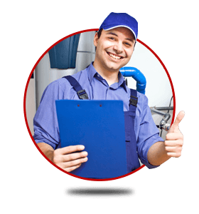 happy technician