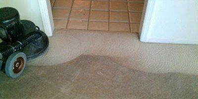 Carpet damage removal