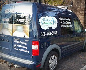Clean Air Restoration Van