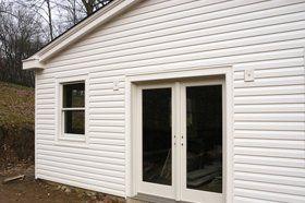 siding and door