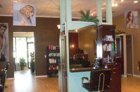 Interior of Salon Delees