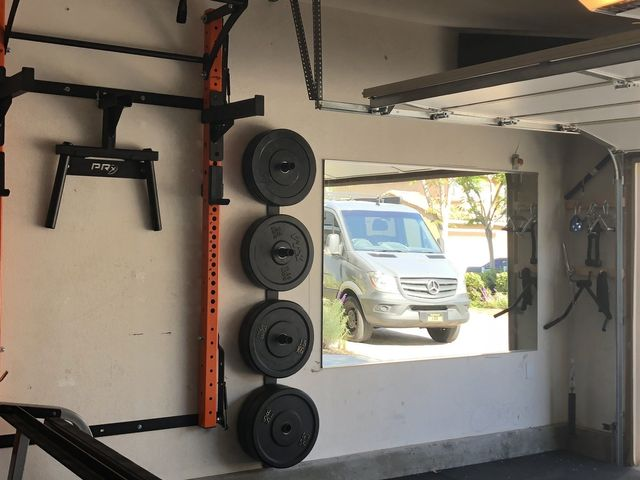 Large garage mirrors