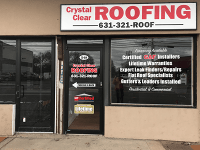 Crystal Clear Roofing Gutter Repairs West Babylon Ny