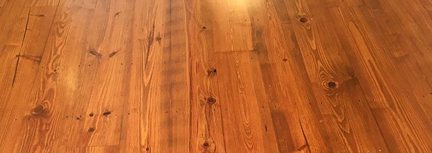 Old And New Heart Pine Flooring Available