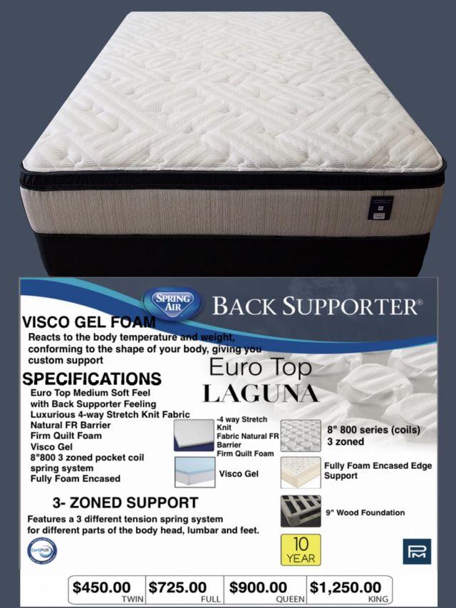 EuroTop mattresses