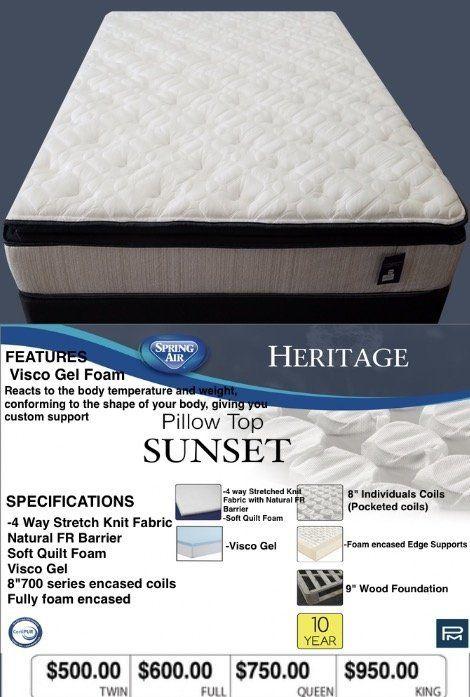 Soft Pillow Top Mattresses