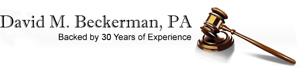 David M Beckerman PA-Company Logo