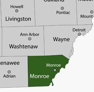 Marflos Lawn Service LLC Service Area Map
