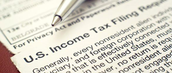 Income tax filing form