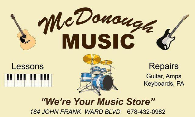 McDonough Music - Logo