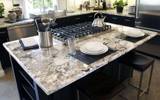 Attrayant Granite On Kitchen Countertop
