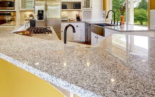 Granite On Kitchen Countertop