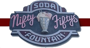 Nifty Fiftys Soda Fountain - Logo