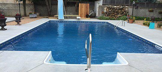 The Vinyl Works pool liner