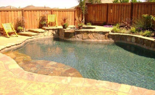 Natural pool entries