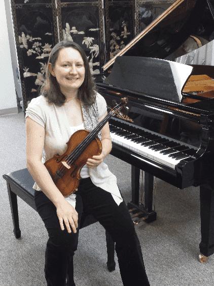 Anna Dobrzyn - Violin, Viola, and Piano