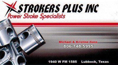 Strokers Plus Inc