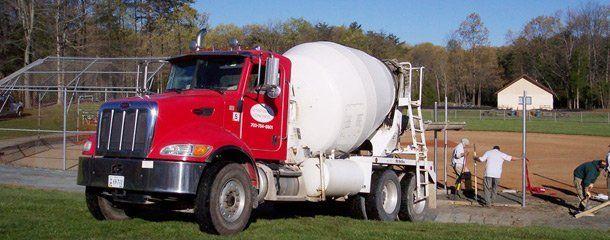 Ready mix concrete delivery