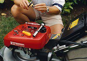 garden equipment repair