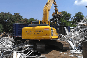 Metal recycling service