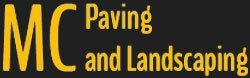 MC Paving and Landscaping Logo