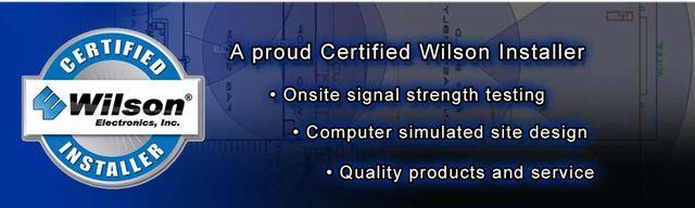 Wilson Electronics certificate