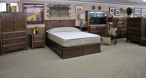 Mattress and bedroom cabinets
