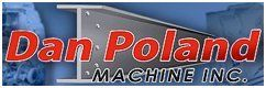 Dan Poland Machine Inc Logo