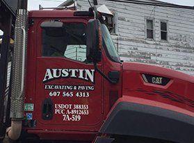 Austin Excavation & Paving Inc truck