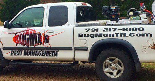 Bugman service truck