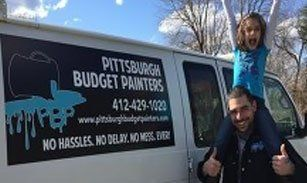Pittsburgh Budget Contracting truck