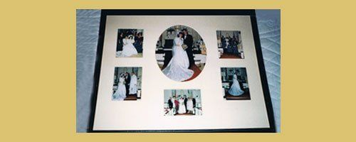 Marriage collage frame