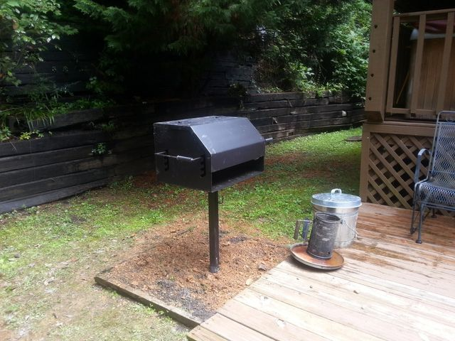 Bear-Proof Trash Bins | Charcoal Grills | Sevierville, TN