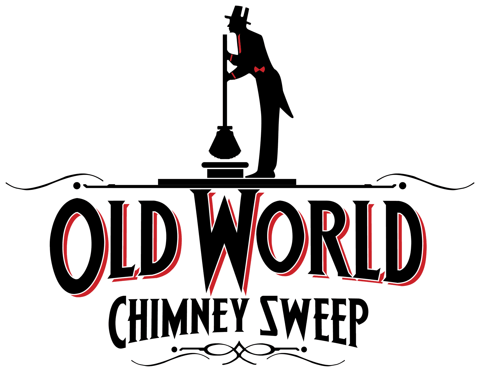 Old World Chimney Sweep  Logo