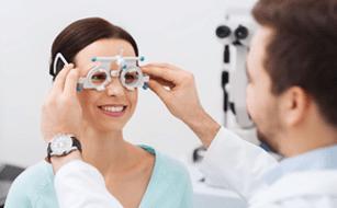 Optometrist service