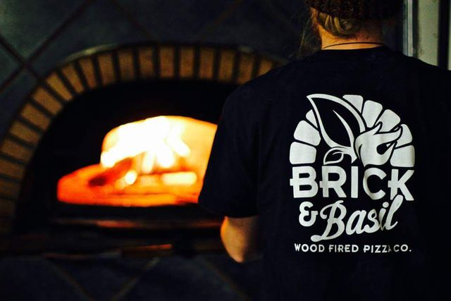 brick basil wood fired pizza co mobile catering norwich. Black Bedroom Furniture Sets. Home Design Ideas
