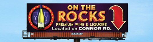 On the Rocks Premium Wine and Liquors