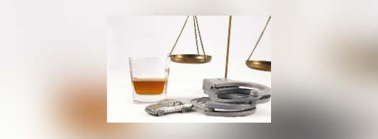 Scale of justice, alcohol etc