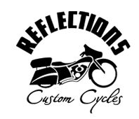 REFLECTIONS Custom Cycles Logo
