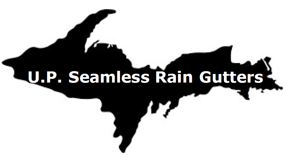 U.P. Seamless Rain Gutters - Logo