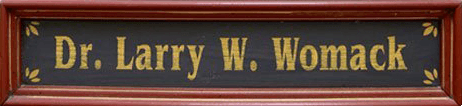 Larry W Womack OD - Logo