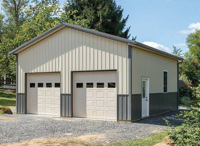 Garages garage construction cochranville pa for Garage building estimator