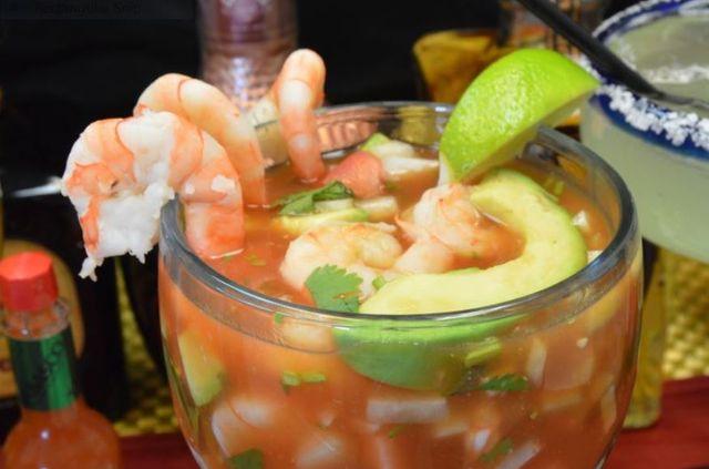 Chimichanga seafood