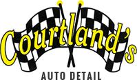 Courtland's Auto Detail | logo